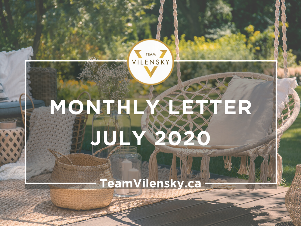 Monthly Letter July 2020