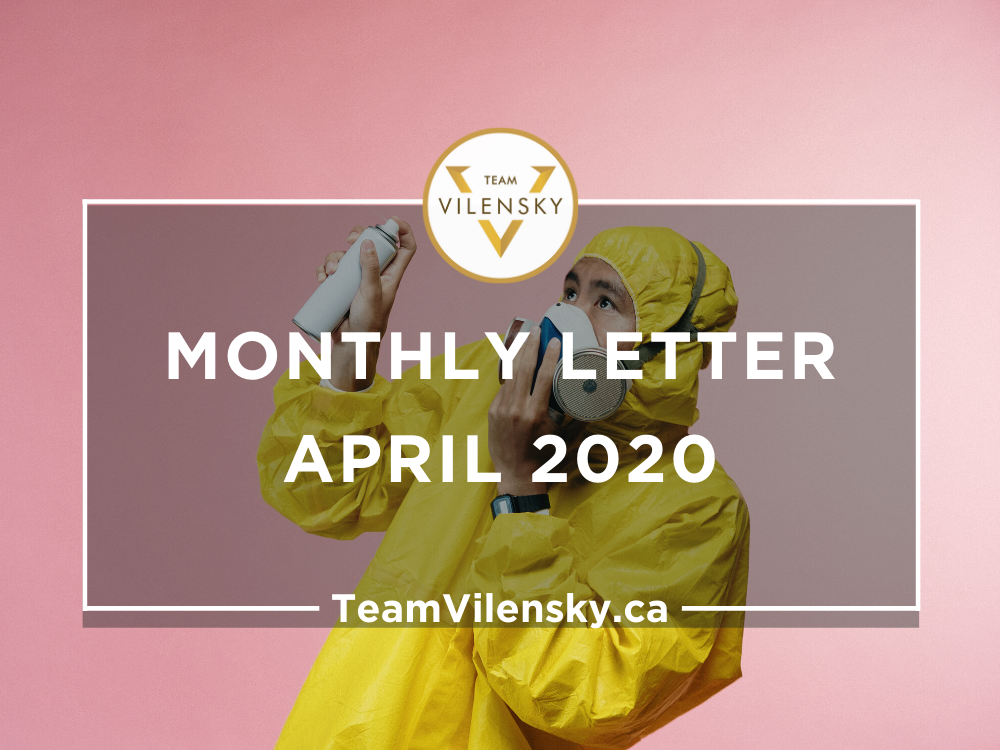 Monthly Letter April 2020