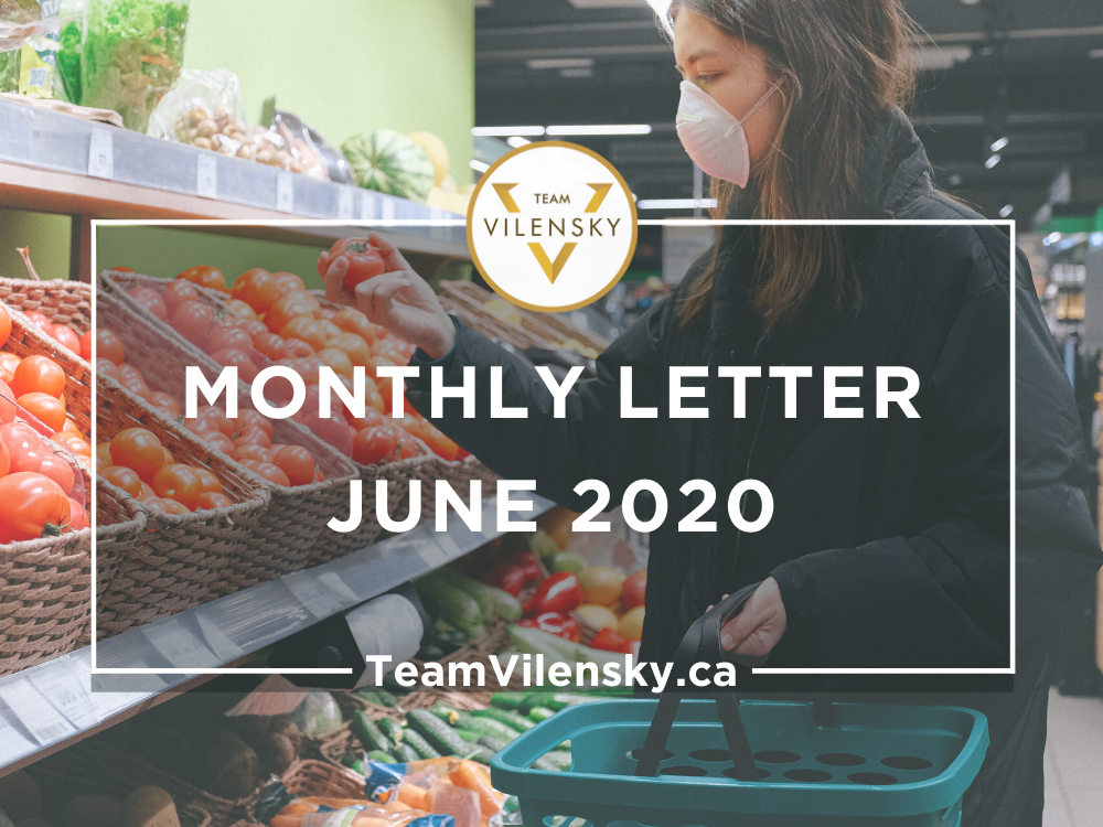 Monthly Letter June 2020